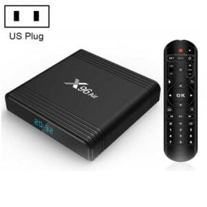 X96 Air 4K Smart TV BOX Android 9.0 Media Player với Điều khiển từ xa, Amlogic S905X3 lõi tứ, RAM: 4GB, ROM: 64GB, WiFi băng tần kép, Bluetooth